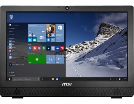 Моноблок MSI Pro 24 2M-031RU (23.6 LED/ Core i5 4460 3200MHz/ 4096Mb/ HDD 1000Gb/ Intel Intel HD Graphics 4600 64Mb) MS Windows 10 Professional (64-bit) [9S6-AE9111-031]