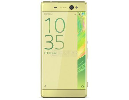 "Смартфон Sony Xperia XA Ultra Lime Gold (Android 6.0 (Marshmallow)/MT6755 2000MHz/6.0"" (1920x1080)/3072Mb/16Gb/4G LTE 3G (EDGE, HSDPA, HSPA+)) [F3211Lime_Gold]"