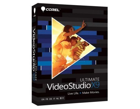 Электронная лицензия Corel ESD VideoStudio X9 ULTIMATE, ESDVSPRX9ULML (EN/FR/IT/DE/NL)