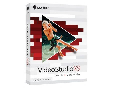 Электронная лицензия Corel ESD VideoStudio X9 Pro, ESDVSPRX9ML (EN/FR/IT/DE/NL)