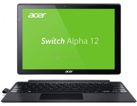 "Планшет Acer Aspire Switch Alpha 12 Dock (MS Windows 10 Home (64-bit)/i7-6500U 2500MHz/12.0"" (2160x1440)/8192Mb/256Gb/ ) [NT.LCDER.008]"