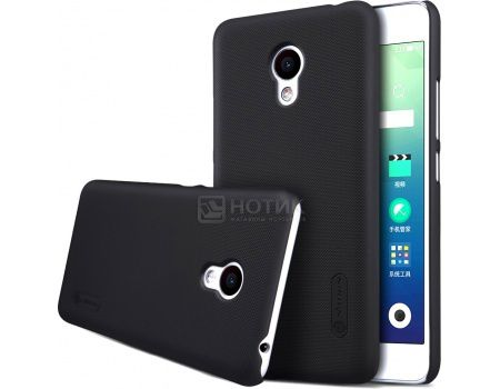 Чехол-накладка Nillkin Back Cover для Meizu M3s Mini, Пластик, Black, Черный, 874004Y0480
