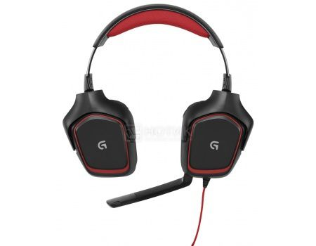 Гарнитура Logitech G230 Stereo Gaming Headset Черный/Красный, 981-000540