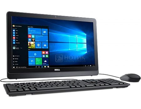 Моноблок Dell Inspiron 3263 (21.5 LED/ Pentium Dual Core 4405U 2100MHz/ 4096Mb/ HDD 500Gb/ Intel Intel HD Graphics 510 64Mb) Linux OS [3263-8292]