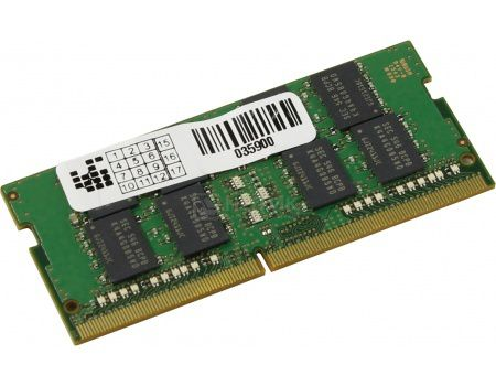 Модуль памяти Samsung SO-DIMM DDR4 8192Mb PC4-17000 2133MHz CL15 1.2V M471A1G43EB1-CPBD0