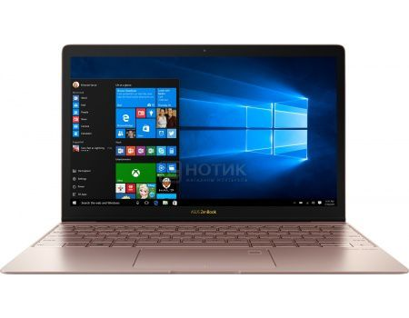 Ультрабук ASUS Zenbook 3 UX390UA-GS089T (12.5 IPS (LED)/ Core i7 7500U 2700MHz/ 8192Mb/ SSD 512Gb/ Intel Intel HD Graphics 620 64Mb) MS Windows 10 Home (64-bit) [90NB0CZ2-M03310]