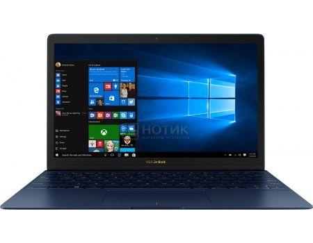 Ультрабук ASUS Zenbook 3 UX390UA-GS088T (12.5 IPS (LED)/ Core i5 7200U 2500MHz/ 8192Mb/ SSD 512Gb/ Intel Intel HD Graphics 620 64Mb) MS Windows 10 Home (64-bit) [90NB0CZ1-M03300]