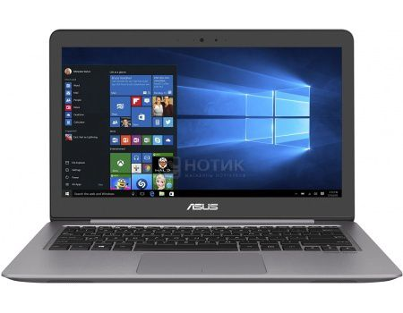 Ультрабук ASUS Zenbook UX310UA-FC051T (13.3 IPS (LED)/ Core i3 6100U 2300MHz/ 4096Mb/ HDD 1000Gb/ Intel Intel HD Graphics 520 64Mb) MS Windows 10 Home (64-bit) [90NB0CJ1-M04930]
