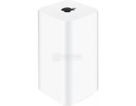 Маршрутизатор Apple AirPort Time Capsule 3xLAN 10/100/1000Мбит/с 802.11b/g/n/ac до 1300 Мбит/с, HDD 3Tb, USB Белый ME182RU/A