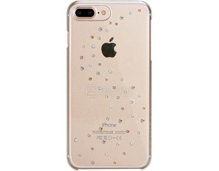 Чехол-накладка Bling My Thing, Milky Way Angel Tears для iPhone 7 с кристаллами Swarovski, ip7-mw-cl-agm, Поликарбонат, Прозрачный