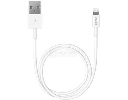Кабель Deppa 72223, USB - Lightning 8-pin, 2м, Белый