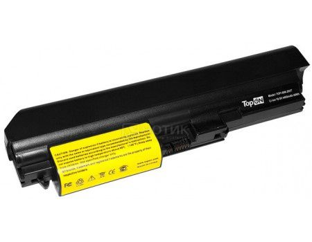 Аккумулятор TopON TOP-IBM-Z60T для IBM ThinkPad Z60t, Z61t Series  - 10.8V 4400mAh Черный