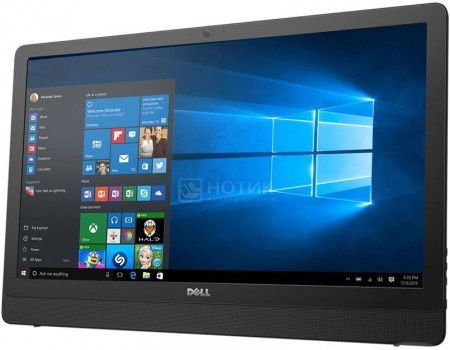 Моноблок Dell Inspiron 3264 (21.5 LED/ Core i3 7100U 2400MHz/ 4096Mb/ HDD 1000Gb/ Intel Intel HD Graphics 620 64Mb) MS Windows 10 Professional (64-bit) [3264-9906]