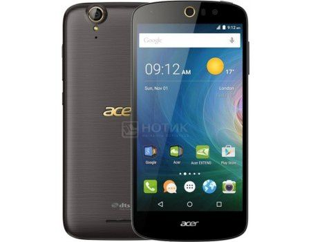 "Смартфон Acer Liquid Z630S Black Gold (Android 5.1/MT6753 1300MHz/5.5"" (1280x720)/3072Mb/32Gb/4G LTE 3G (EDGE, HSDPA, HSPA+)) [HM.HT6EU.002]"