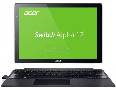 "Планшет Acer Aspire Switch Alpha 12 Dock (MS Windows 10 Home (64-bit)/i3-6100U 2300MHz/12.0"" (2160x1440)/4096Mb/128Gb/ ) [NT.LCDER.014]"