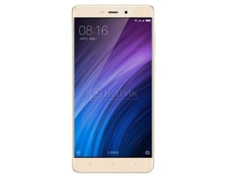 "Смартфон Xiaomi Redmi 4 Prime Gold White (Android 6.0 (Marshmallow)/MSM8953 2000MHz/5.0"" (1920x1080)/3072Mb/32Gb/4G LTE 3G (EDGE, HSDPA, HSPA+)) [6954176832788]"
