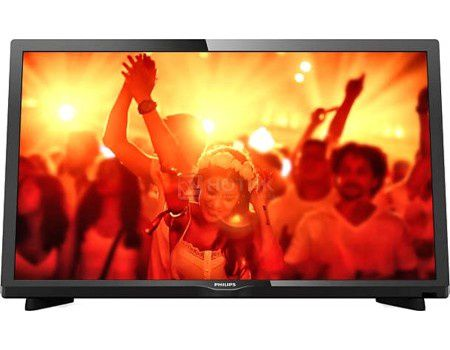 Телевизор Philips 24PHT4031/60, LED, HD, PMR 100, Черный