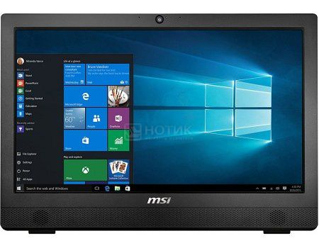 Моноблок MSI Pro 24 4BW-015RU (23.6 LED/ Pentium Quad Core N3710 1600MHz/ 4096Mb/ HDD 1000Gb/ Intel Intel HD Graphics 405 64Mb) Free DOS [9S6-AE9211-015]