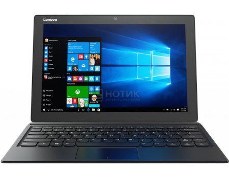 "Планшет Lenovo IdeaPad Miix 510-12 (MS Windows 10 Professional (64-bit)/i5-6200U 2300MHz/12.2"" (1920x1080)/8192Mb/256Gb/4G LTE 3G (EDGE, HSDPA, HSPA+)) [80U1009DRK]"