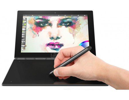 "Планшет Lenovo Yoga Book YB1-X91L 64Gb (MS Windows 10 Home (64-bit)/Z8550 1440MHz/10.1"" (1920x1200)/4096Mb/64Gb/4G LTE 3G (EDGE, HSDPA, HSPA+)) [ZA160002RU]"