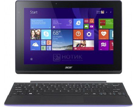 "Планшет Acer Aspire Switch 10 E (MS Windows 10 Home (64-bit)/Z8300 1440MHz/10.1"" (1280x800)/2048Mb/32Gb/ ) [NT.G90ER.001]"