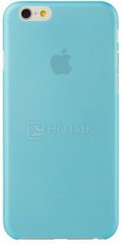 Чехол-накладка для iPhone 6 Ozaki O!coat 0.3 Jelly OC555BU, Пластик, Синий