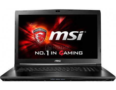 Ноутбук MSI GL72 6QF-698RU (17.3 LED/ Core i7 6700HQ 2600MHz/ 8192Mb/ HDD 1000Gb/ NVIDIA GeForce® GTX 960M 2048Mb) MS Windows 10 Home (64-bit) [9S7-179586-698]