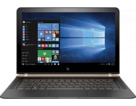 Ультрабук HP Spectre 13-v104ur (13.3 IPS (LED)/ Core i7 7500U 2700MHz/ 8192Mb/ SSD 512Gb/ Intel Intel HD Graphics 620 64Mb) MS Windows 10 Home (64-bit) [1DM60EA]