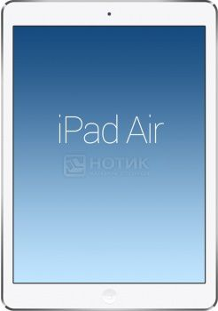 "Планшет Apple iPad Air 16Gb Wi-Fi + Cellular (iOS/A7 1400MHz/9.7"" (2048x1536)/1024Mb/16Gb/Cellular (3G+4G LTE) 3G (EDGE, HSDPA, HSUPA)) [MD794RU/B]"