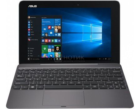 "Планшет ASUS Transformer Book T101HA-GR001T (MS Windows 10 Home (64-bit)/Z3850 1440MHz/10.1"" (1280x800)/2048Mb/32Gb/ ) [90NB0BK1-M00910]"