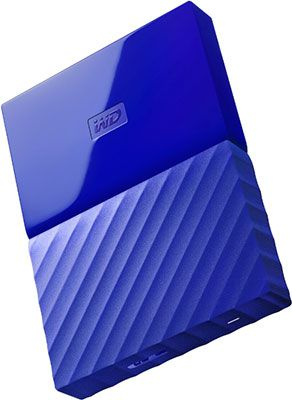 Внешний жесткий диск (HDD) Western Digital Original USB 3.0 1Tb WDBBEX 0010 BBL-EEUE My Passport 2.5