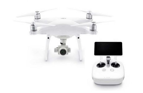 Квадрокоптер DJI Phantom 4 ADVANCED+ (с экраном)