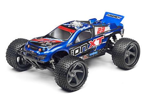 Трак 1/18 - MAVERICK ION XT NEW (RTR ELECTRIC)