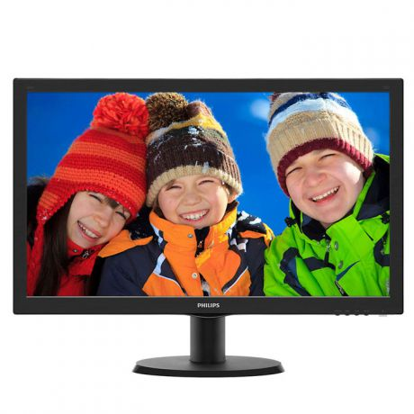 "Монитор 24"" Philips 243V5QHABA MVA LED 1920x1080 8ms VGA DVI HDMI"