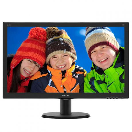 "Монитор 24"" Philips 240V5QDSB IPS LED 1920x1080 5ms VGA HDMI DVI"