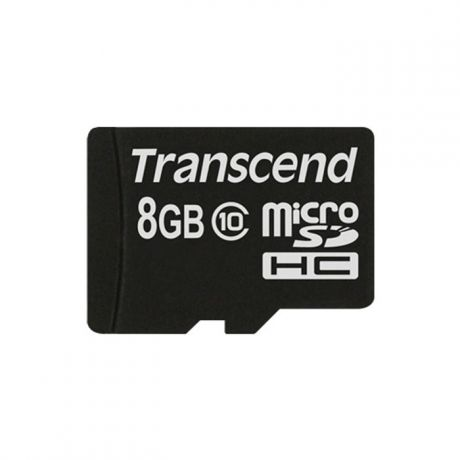 Micro SecureDigital 8Gb HC Transcend class10 (TS8GUSDC10)
