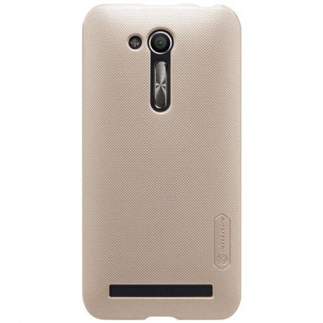 Чехол для Asus ZenFone Go ZB452KG / ZB450KL Nillkin Super Frosted Shield Case, золотистый