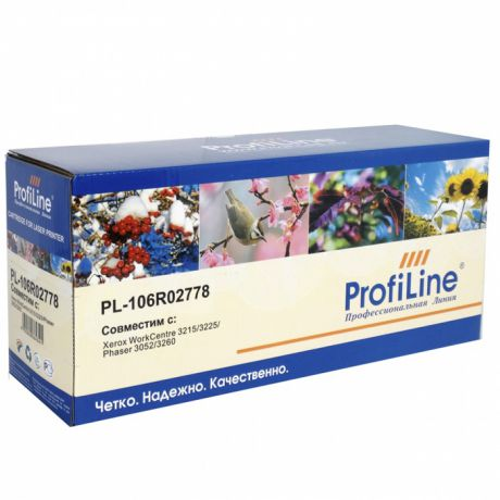 Картридж ProfiLine PL-106R02778 для Xerox WorkCentre 3052 / 3215 / 3225 / 3260 (3000стр)