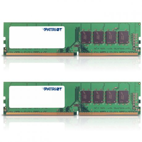 Модуль памяти DIMM 16Gb 2х8Gb DDR4 PC17000 2133MHz Patriot (PSD416G2133KH)