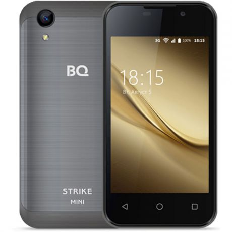 Смартфон BQ Mobile BQ-4072 Strike Mini Dark-Grey