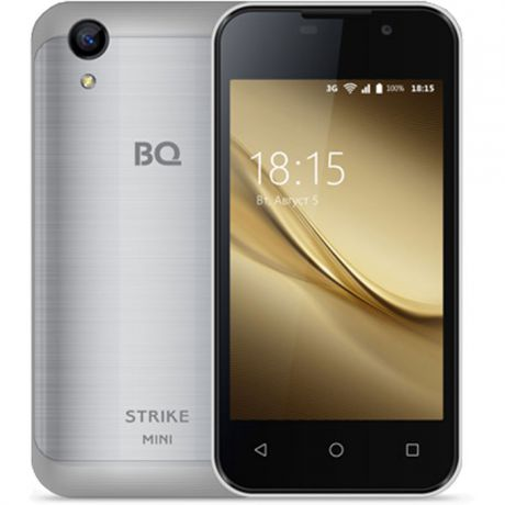 Смартфон BQ Mobile BQ-4072 Strike Mini Silver