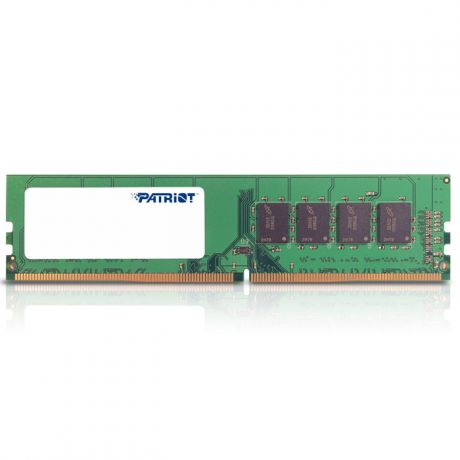 Модуль памяти DIMM 4Gb DDR4 PC17000 2133MHz Patriot (PSD44G213382)