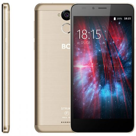 Смартфон BQ Mobile BQ-5510 Strike Power Max 4G Gold