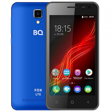 Смартфон BQ Mobile BQ-4500L Fox LTE Blue