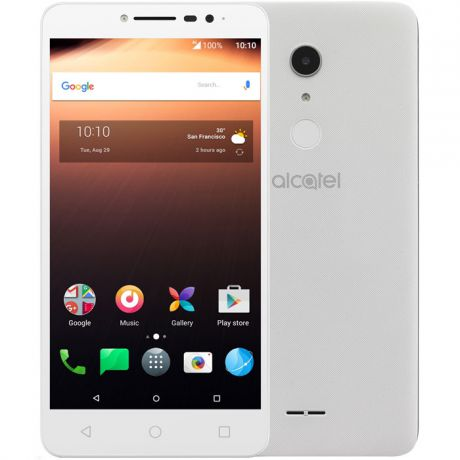 Мобильный телефон Alcatel One Touch 9008D A3 XL White / Silver