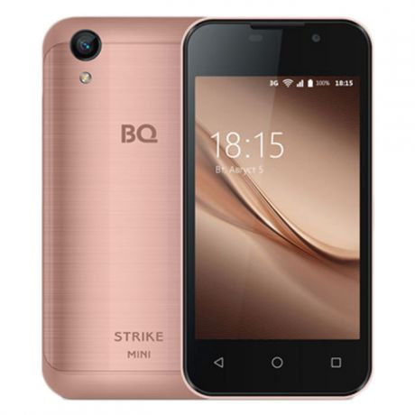 Смартфон BQ Mobile BQ-4072 Strike Mini Rose Gold