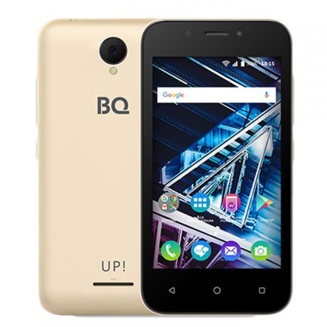 Смартфон BQ Mobile BQ-4028 UP! Gold