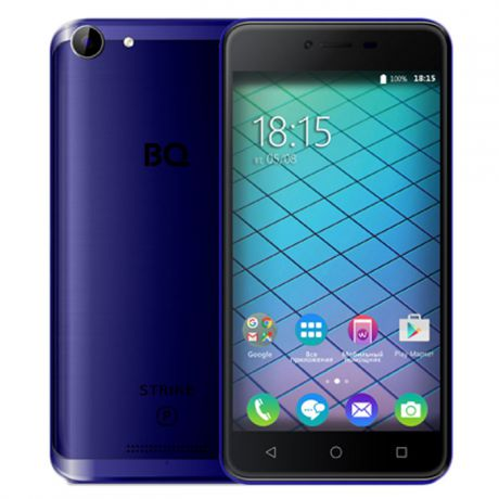 Смартфон BQ Mobile BQ-5059 Strike Power Dark Blue Matt