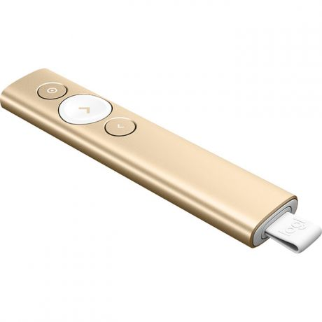 Презентер Logitech Wireless Presenter Spotlight 910-004862 Gold