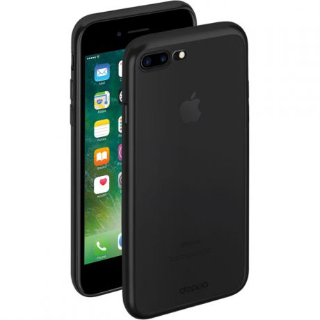 Чехол для iPhone 8 Plus, Deppa Gel Case Plus , черный